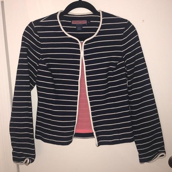 Vineyard Vines Jackets & Blazers - Vineyard Vines Striped Jacket